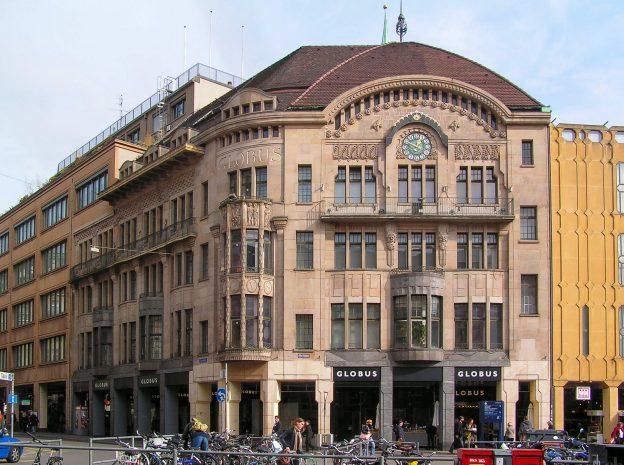 Marktplatz 1, Romang & Bernoulli, 1904